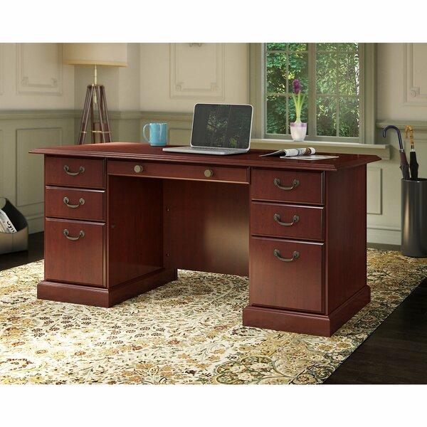 Bennington Executive Desk by Kathy Ireland Office by Bush
