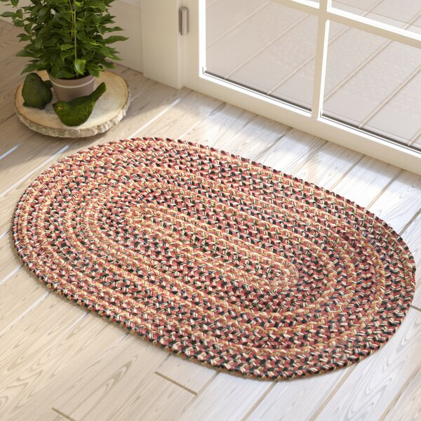 Greenlaw Rosewood Area Rug by Three Posts