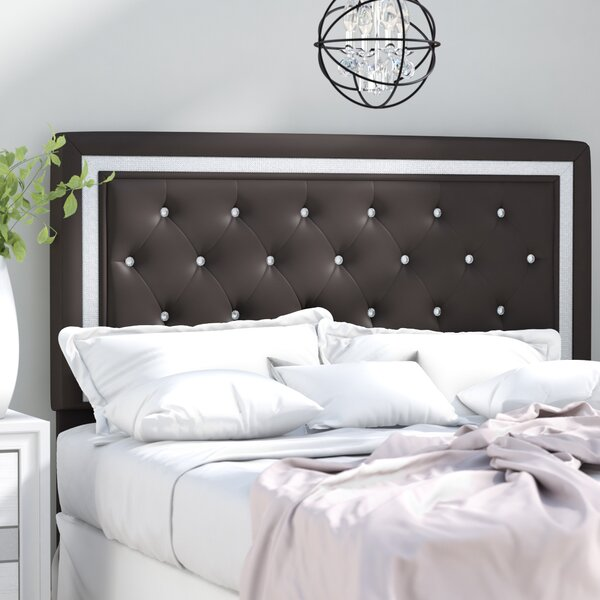 Anamaria Upholstered Panel Headboard by Willa Arlo