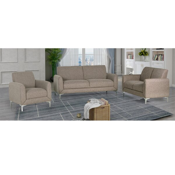 Geis 3 Piece Living Room Set by Orren Ellis