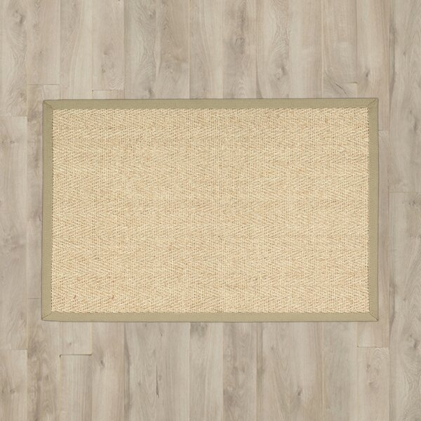 Remington Tan/Beige Area Rug by Charlton Home
