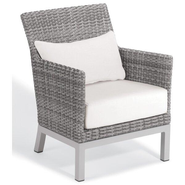 Saleem Club Patio Chair with Cushions (Set of 2) by Brayden Studio