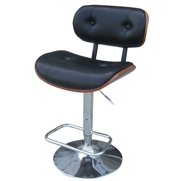 Galvin Adjustable Height Bar Stool by George Oliver