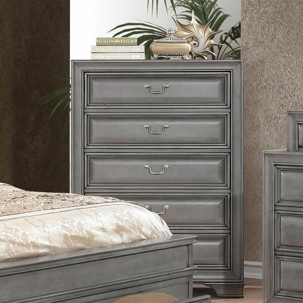 Brodnax 5 Drawer Chest by Charlton Home