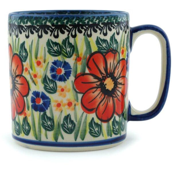 14 oz Polish Pottery Coffee Mug by Polmedia