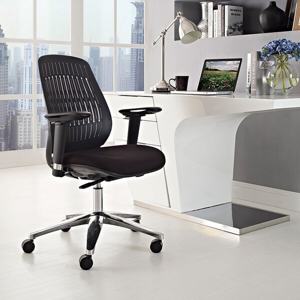 Reveal Mid-Back Desk Chair by Modway