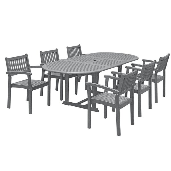 Drees 7 Piece Dining Set by Darby Home Co