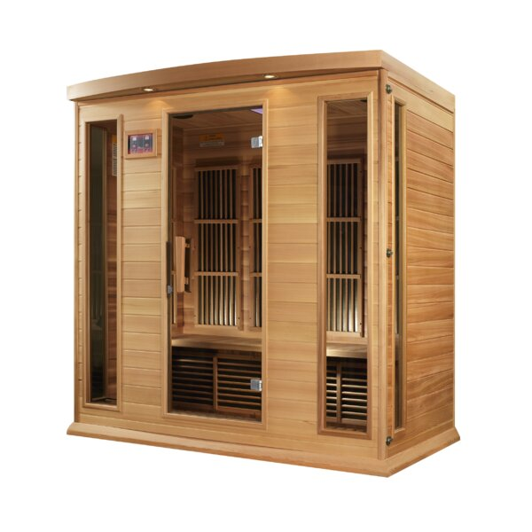 4 Person FAR Infrared Sauna by Dynamic Infrared