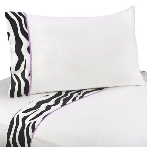 Zebra Sheet Set by Sweet Jojo Designs