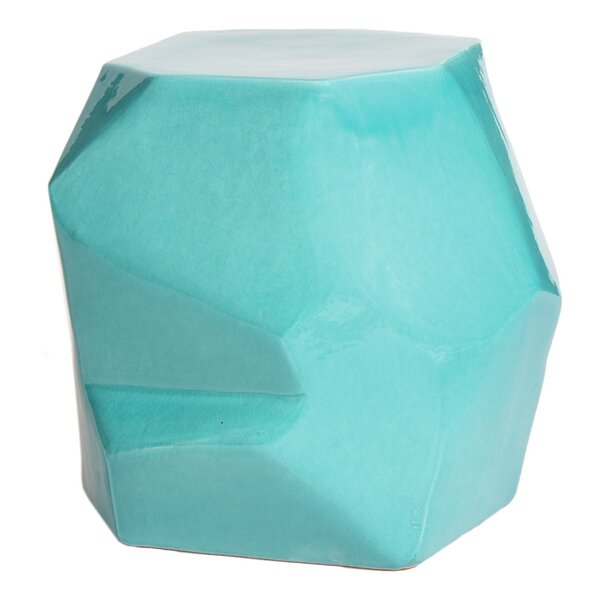 Geo Accent Stool by Seasonal Living