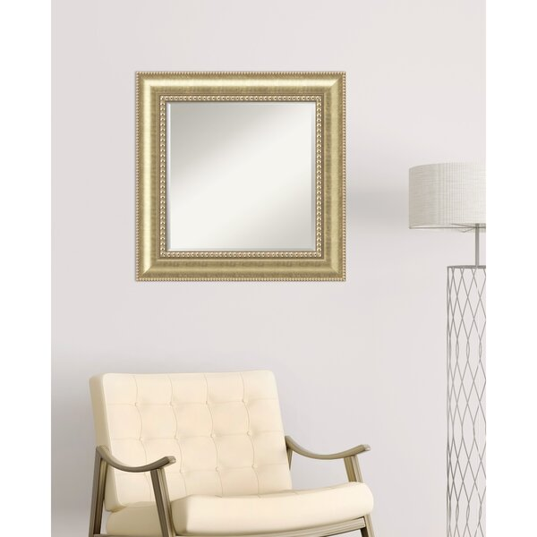 Rennerdale Square Wall Mirror by Darby Home Co