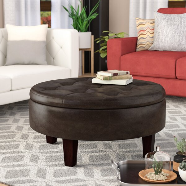 Carmen Tufted Storage Ottoman By Darby Home Co