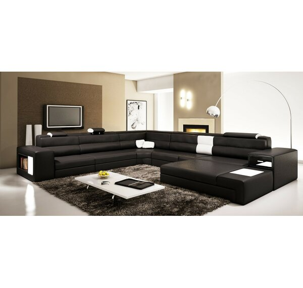Solomon Sleeper Sectional by Hokku Designs