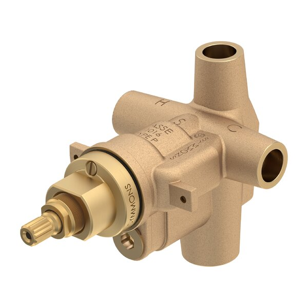Symmons Temptrol Pressure Balancing Tub/Shower Valve Body with Integral Diverter by Symmons
