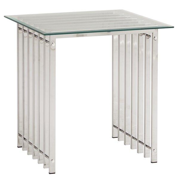 Mervin End Table by Everly Quinn Everly Quinn