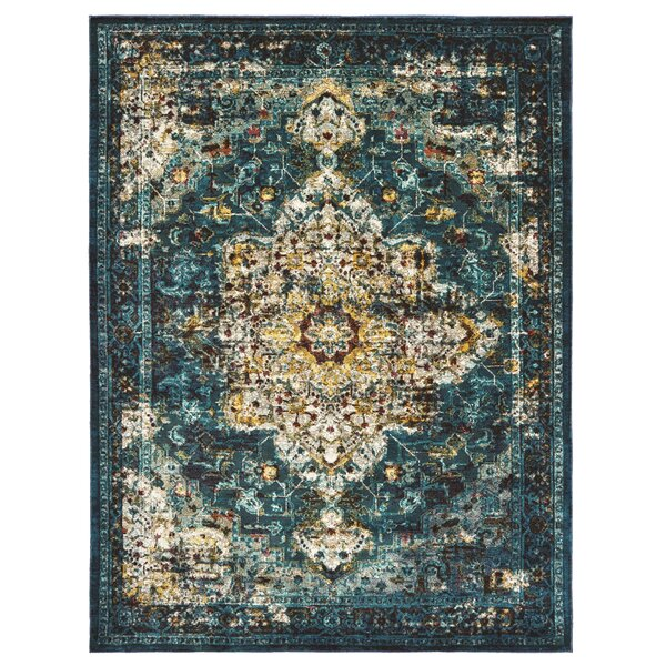 United Weavers Bohemian Bahama Aqua Area Rug by Panama Jack Home