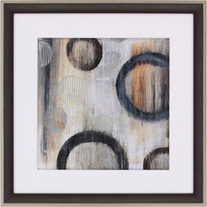 Abstraction I by Orlov Framed Painting Print by Paragon