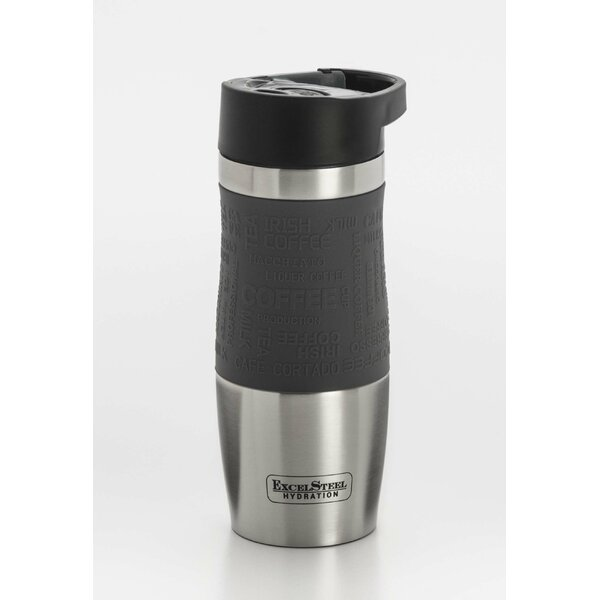 Double Walled Stainless Steel Coffee Tumbler with Hanging Loop by Cook Pro