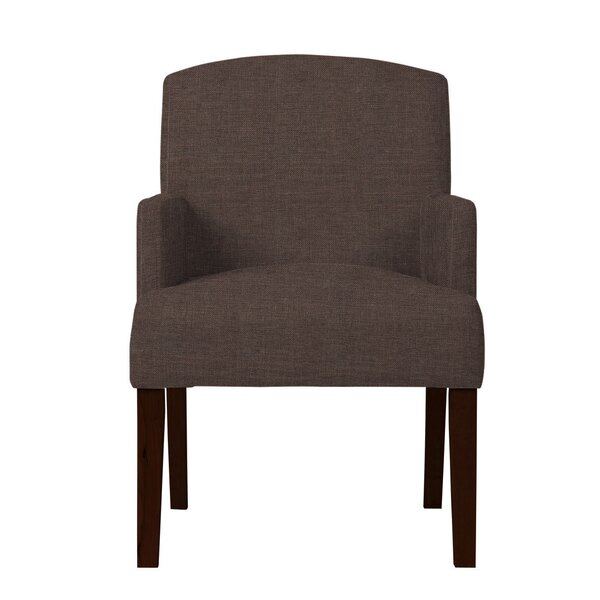 Arturo Solid Upholstered Arm Chair by Langley Street