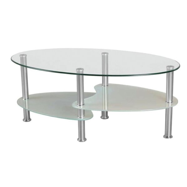 Lular Tempered Glass Coffee Table By Orren Ellis