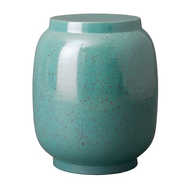 Lagoon Speckle Stool by Emissary Home and Garden