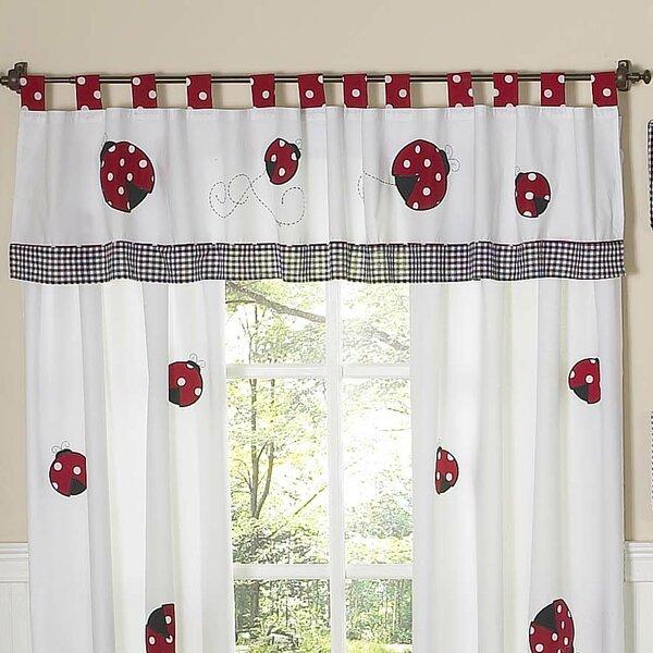 Little Ladybug 84 Curtain Valance by Sweet Jojo Designs