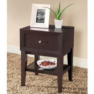 Shop For Roosevelt 1 Drawer Nightstand by Latitude Run