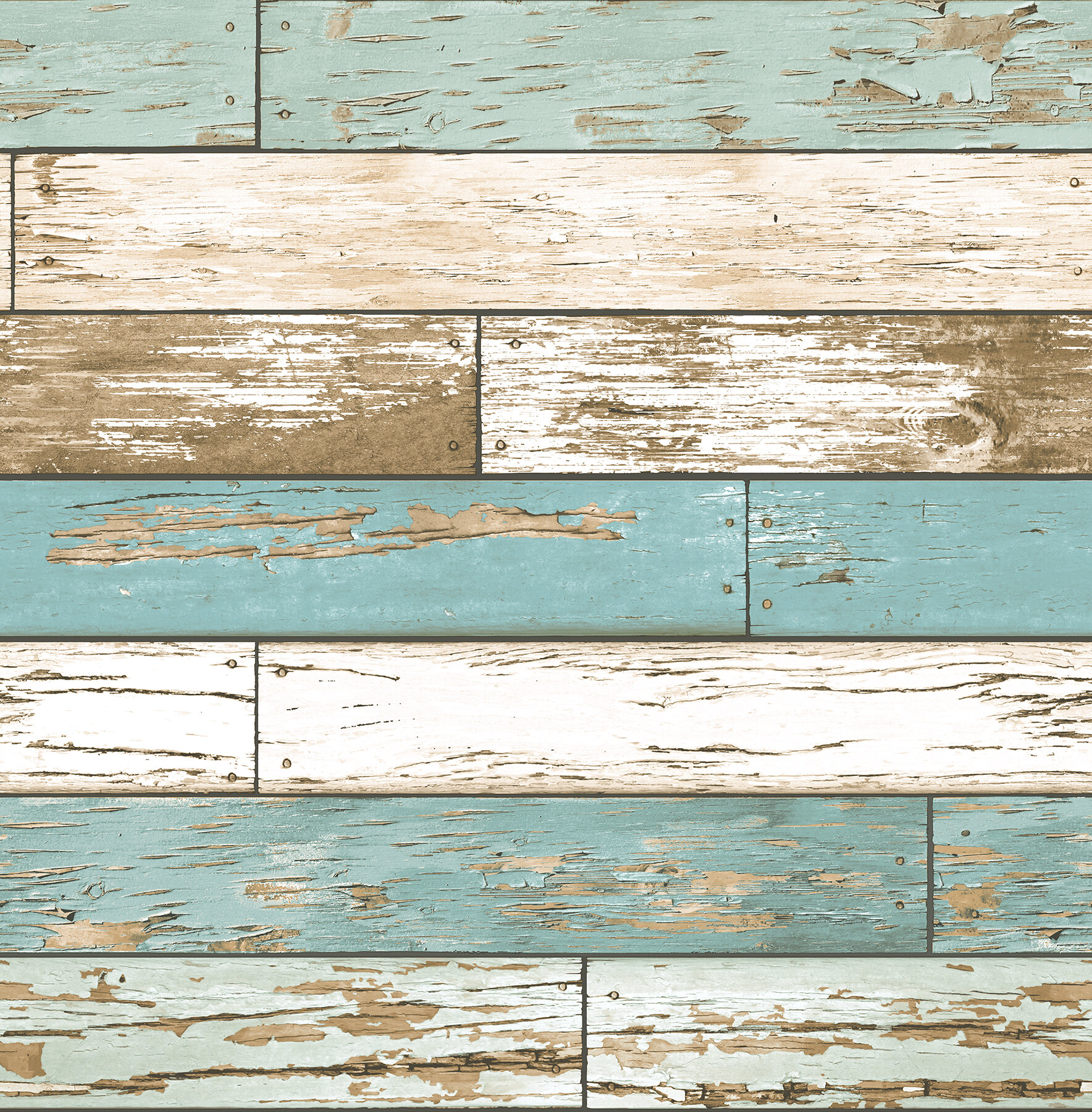 Brewster Home Fashions Scrap Weathered 2\' x 20.5\
