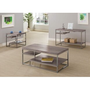 Coen 3 Piece Coffee Table Set