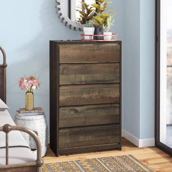 Taumsauk 5 Drawer Standard Dresser/Chest By Trent Austin Design by Trent Austin Design Amazing