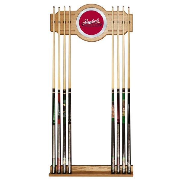 Leinenkugel Billiard Cue Rack with Mirror by Trademark Global