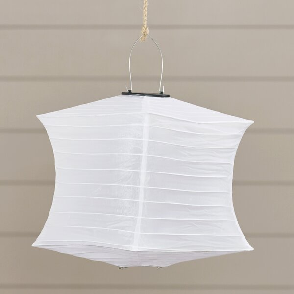 Fabric Lantern by Beachcrest Home