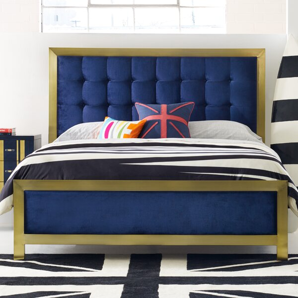 Balthazar Upholstered Panel Bed by Cynthia Rowley