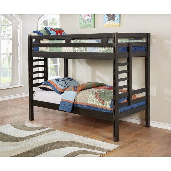 Kirtin Twin over Twin Bunk Bed by Harriet Bee