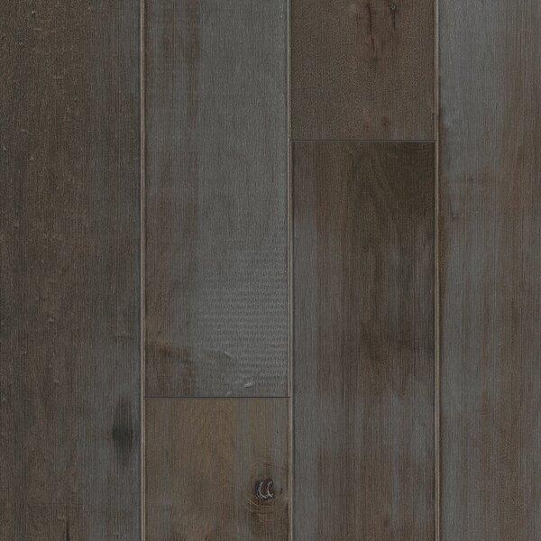 Artisan 6-3/4 Engineered Maple Hardwood Flooring in Dark Gray by Armstrong Flooring