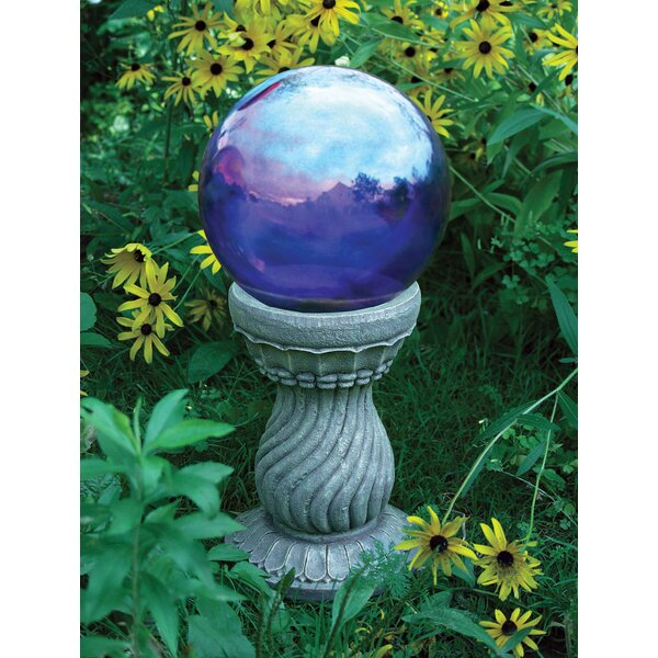 Serpentine Gazing Globe Stand by Rsr Industries
