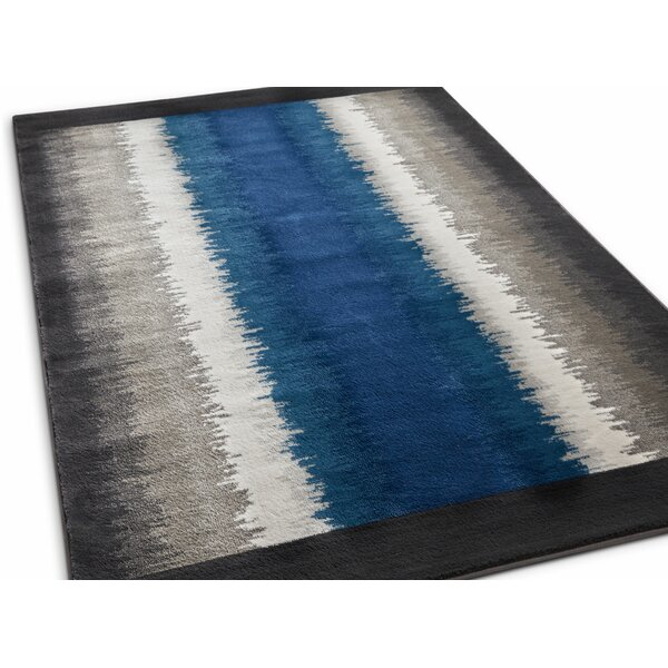 Rethman Blue Area Rug by Wrought Studio