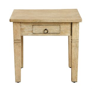 Sedona End Table with Storage by Casual Elements