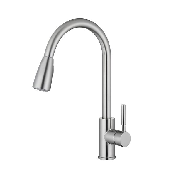 Pull Down Single Handle Kitchen Faucet by PASGO PASGO