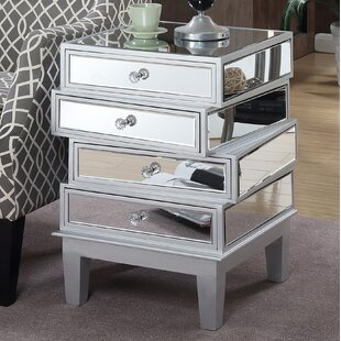 Trend Claybrooks End Table with Storage By House of Hampton