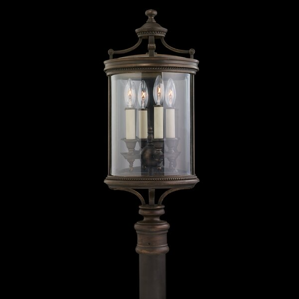 Louvre Outdoor 4-Light Lantern Head by Fine Art Lamps