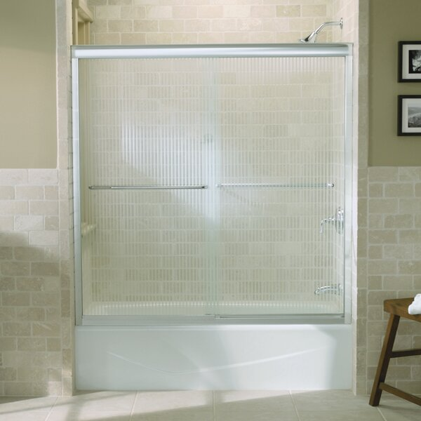 Fluence 59.63 x 58.31 Bypass Bath Door with CleanCoat® Technology by Kohler
