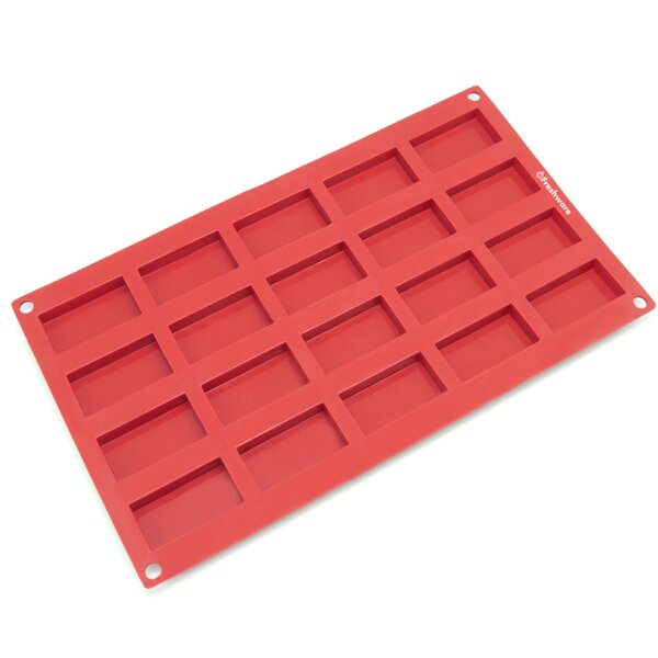 20-Cavity Small Silicone Mold Pan by Freshware