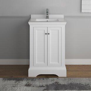 Check Prices Windsor 24 Single Bathroom Vanity Set ByFresca