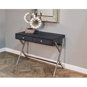 shagreen console table