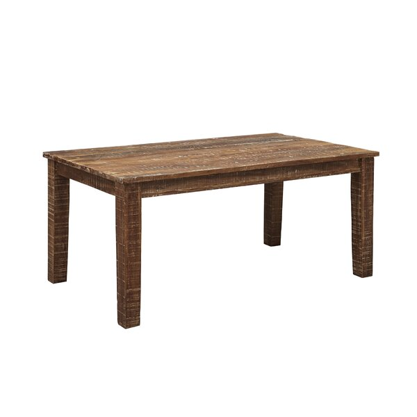 Walczak Solid Wood Dining Table by Millwood Pines