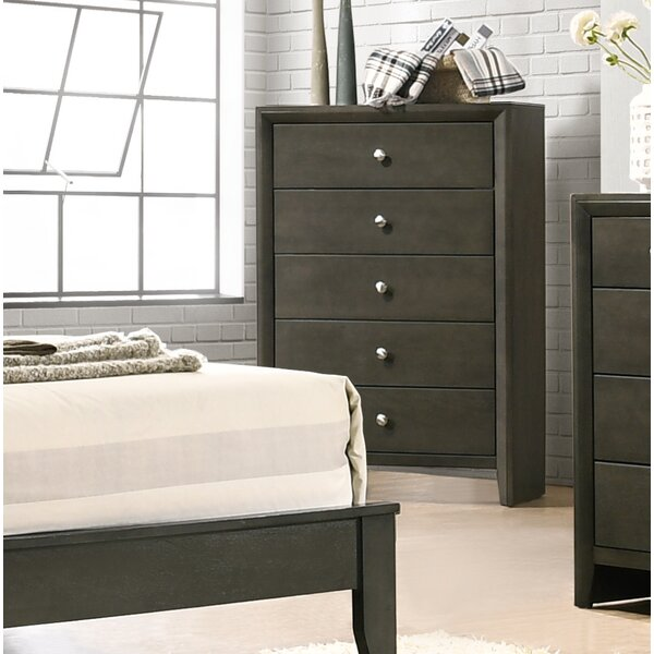 Kelliher 5 Drawer Chest by Ivy Bronx