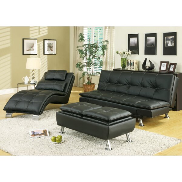 Baize Sleeper Configurable Living Room Set by Latitude Run