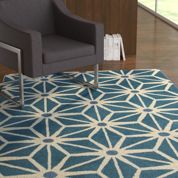 Steward Blue Area Rug by Latitude Run