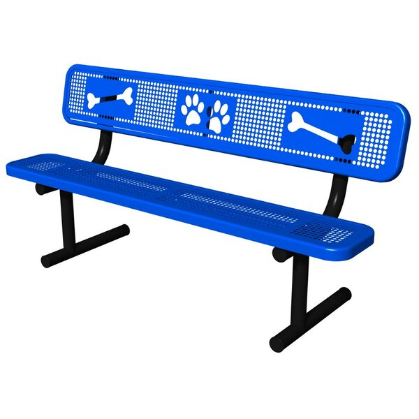 Bark Park Basic Bench by Ultra Play